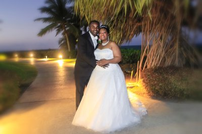 Jamaica Ritz Carlton Bride & Groom Wedding