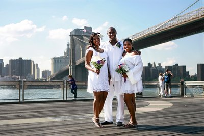 Brooklyn Bridge City Hall Wedding
