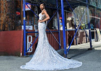Paris Blues Bridal Gown