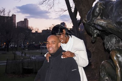 Harlem Engagement - Morningside Park  Photo
