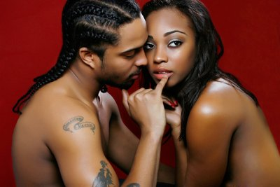 Harlem Boudoir Couple Photo