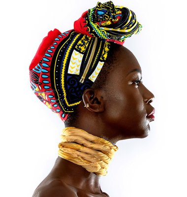 New York Sudanese Model Beauty Photo