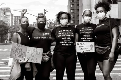 Harlem Photographer Black Lives Matter State Building