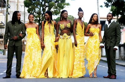 Antigua Fashion Designer Calvin Southwell