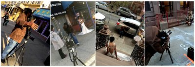 Dracinc Location Magazine Bridal Shoot Harlem NYC