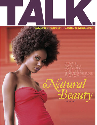 Talk Magazine Cover Guyana Photography