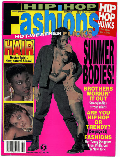 Hip Hop Fashion Magazine Cover Photographer