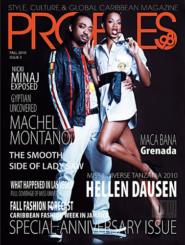 Machel Montano Profiles98 #5 Orange Cover