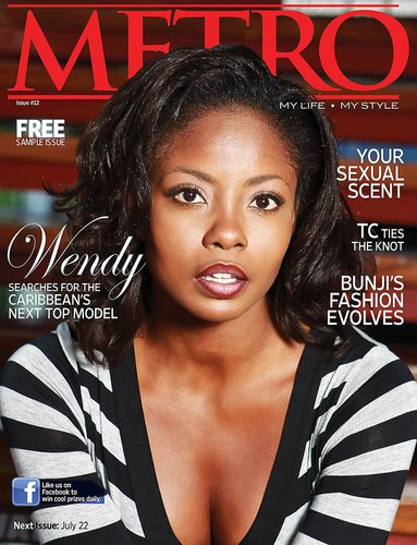 Metro Magazine Cover -  Wendy Fitzwilliam