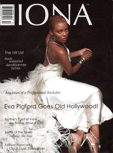 Iona Magazine Fall Winter 2005 Cover - Eva Marcille