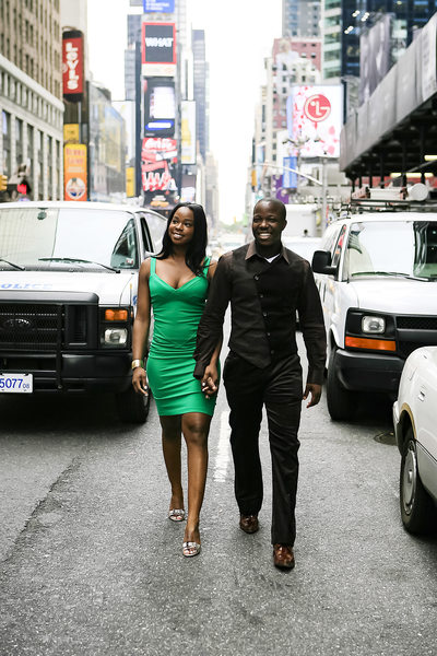 Time Square Engagement Photographer