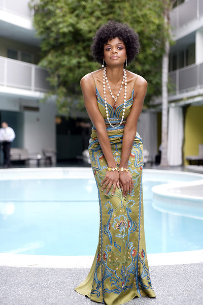 Kimberly Elise Avalon Pool Los Angles Photographer