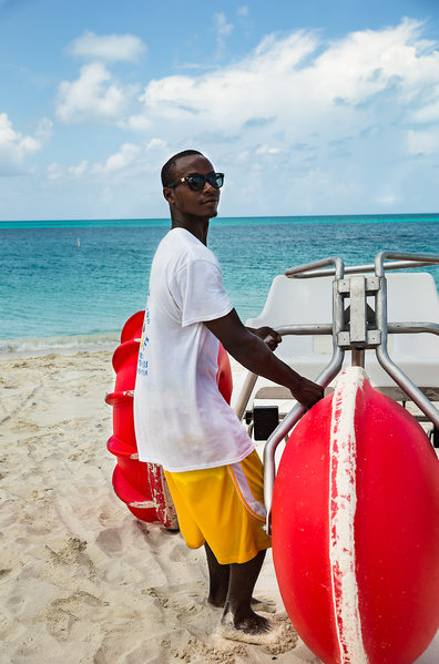 Resort World Bimini Big Red Wheels Water Sports Photo