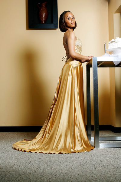 Gold Bridal Wedding Dress Fashion Photographer