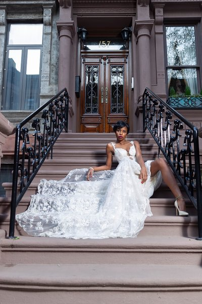 Upscale Magazine Wedding Gown