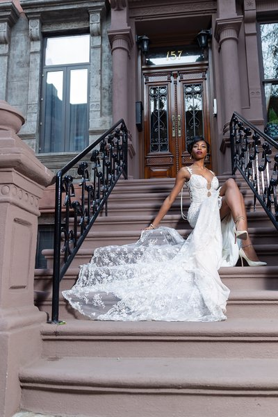 Upscale Magazine Wedding Gown Photo