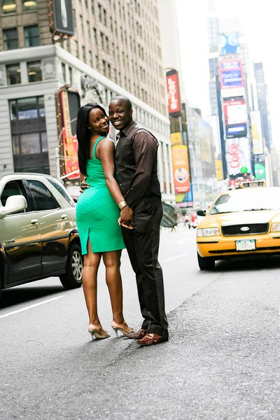 New York Engagement Photographer - Time Square