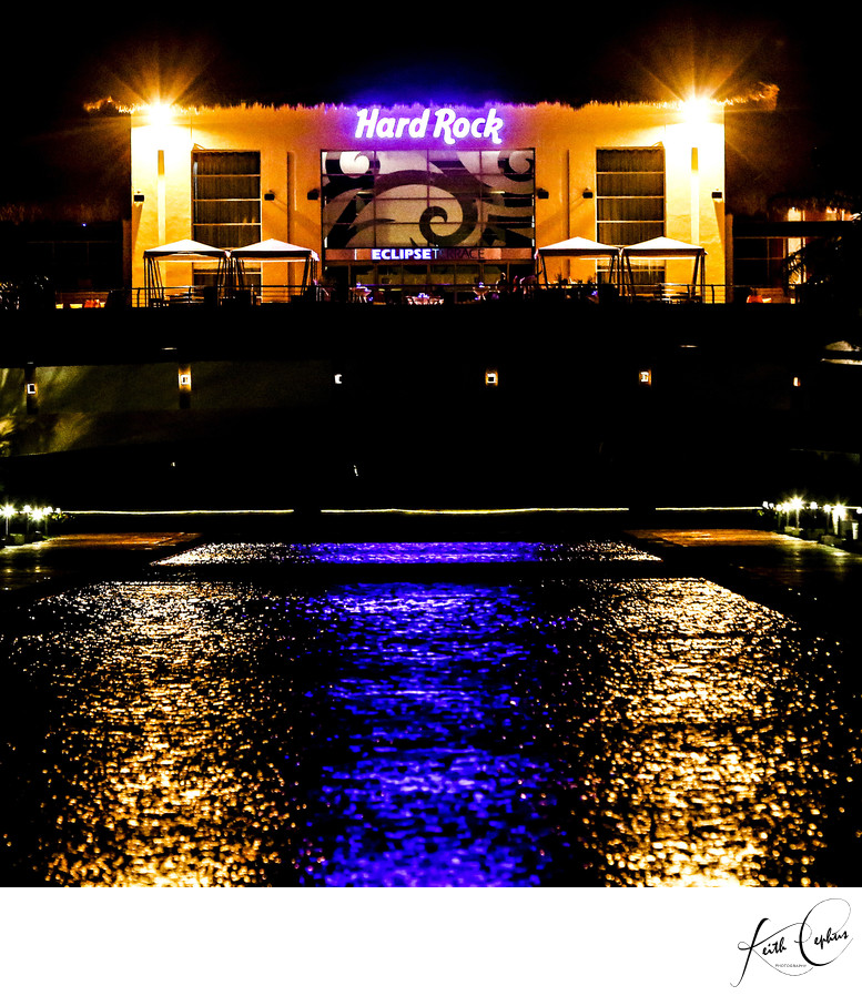 hard rock hotel destination wedding photographer