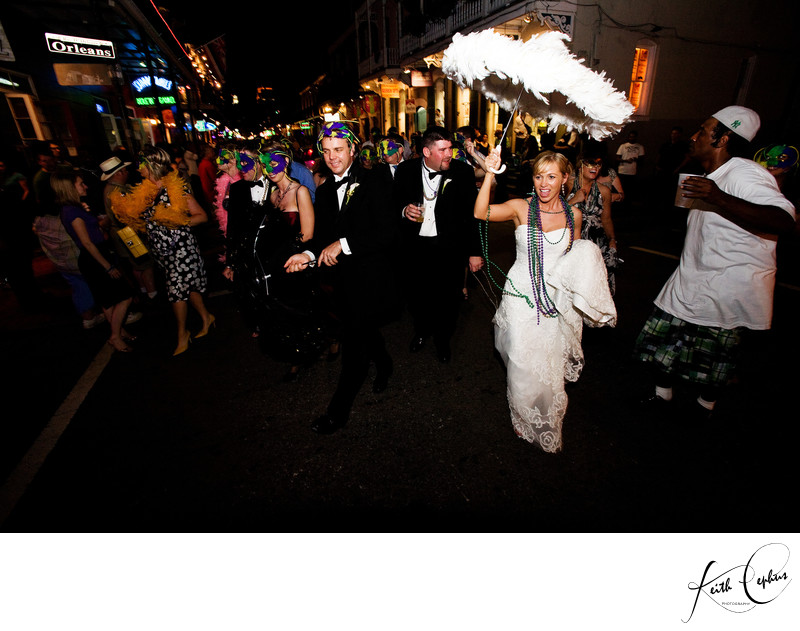 New Orleans destination wedding photographer