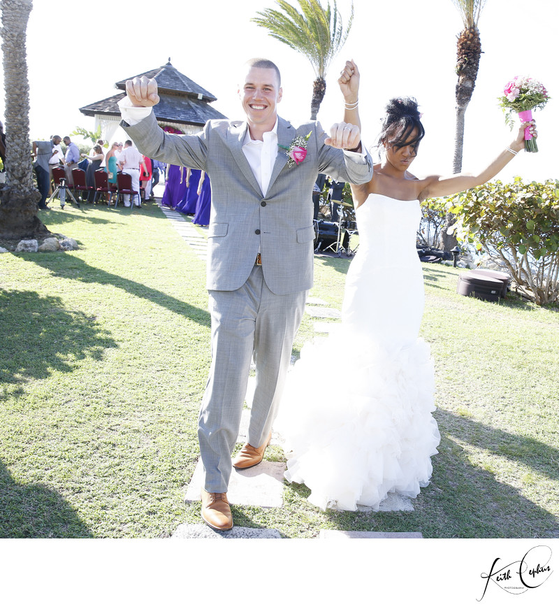 Interracial wedding vowtures 1