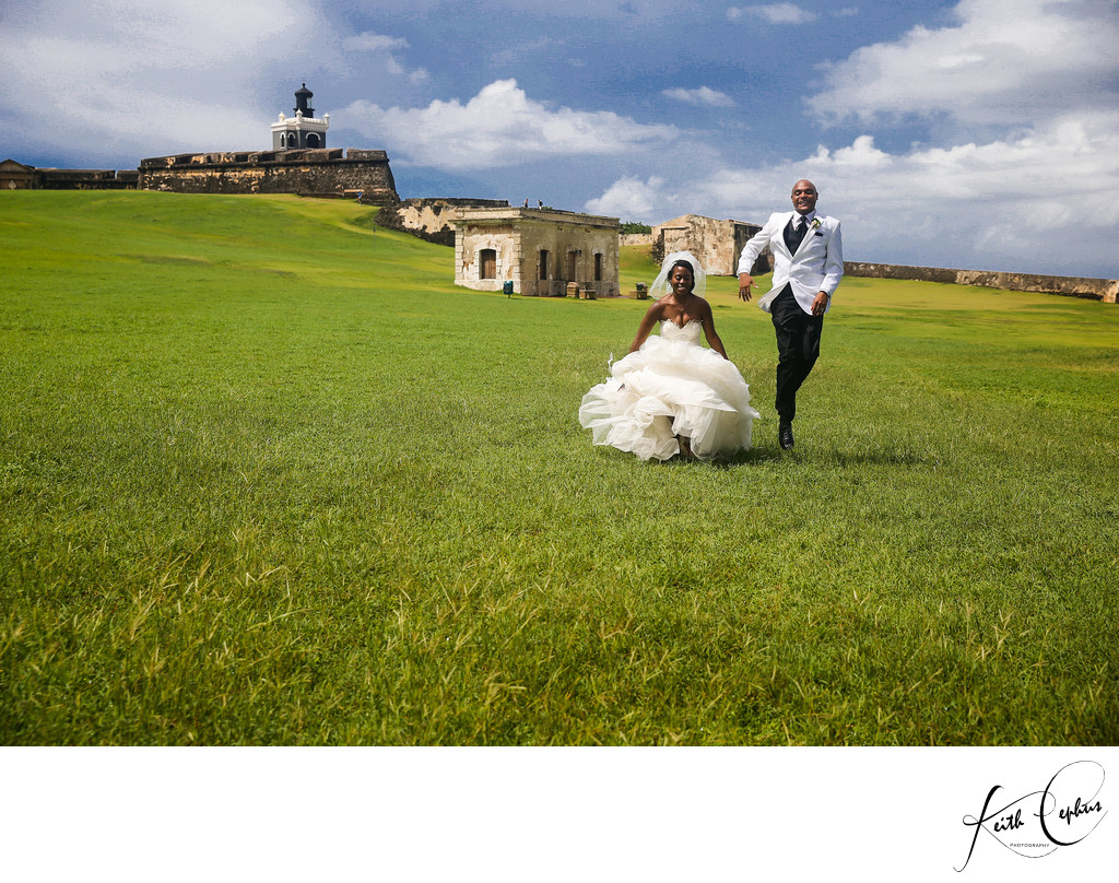 La Concha destination wedding photographer