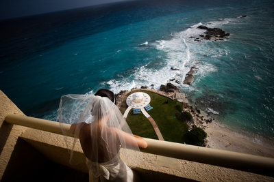 Dreams Resort Cancun destination wedding photographer