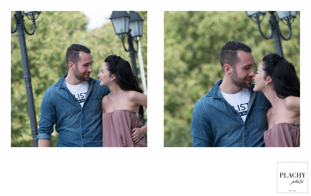 Love Story Vienna wedding photography in Stadt Park