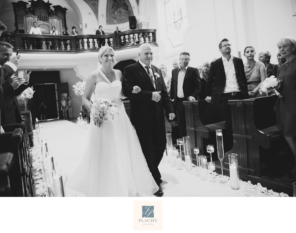 Church Wedding Photography in Venice