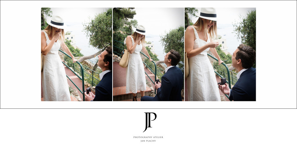Surprised Marriage Proposal In Monaco Jan Plachy photo