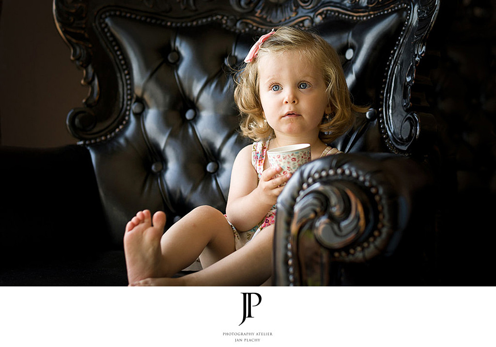 Family Photography Interier Of The House Young Girl