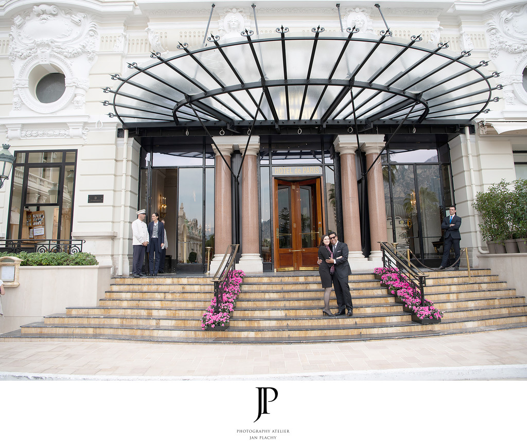 Hotel de Paris Monte Carlo Marriage Proposal Jan Plachy