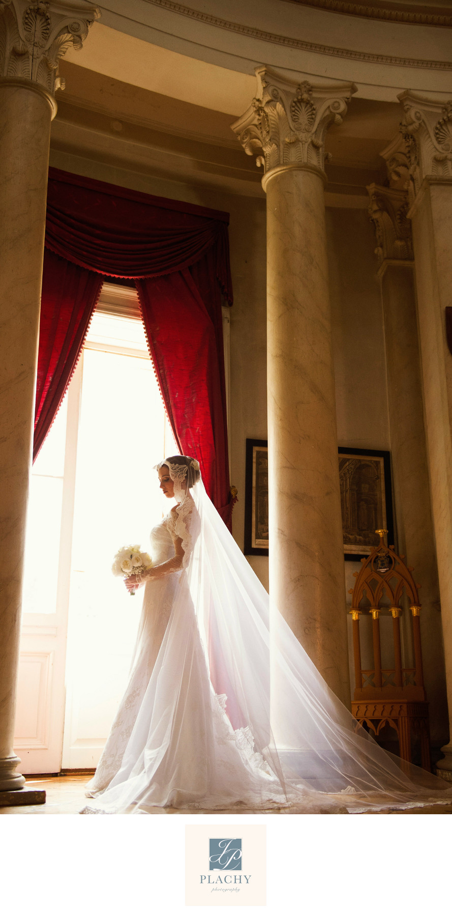 Wedding Image of the Bride in Imperial Hotel Vienna