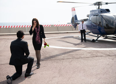 Monaco Marriage Proposal in Monte Carlo