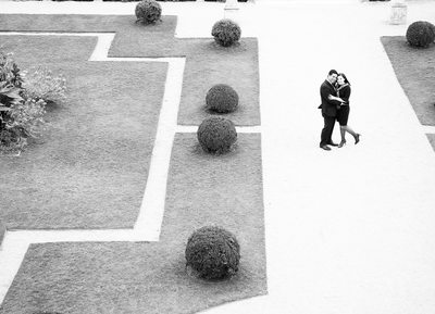 Marriage Surprised Proposal in Villa Ephrussi Monaco