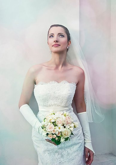 Wedding Portrait of the Bride Photographer Jan Plachy