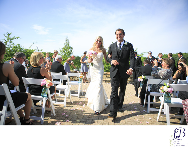 Barrington Inn Wedding ceremony