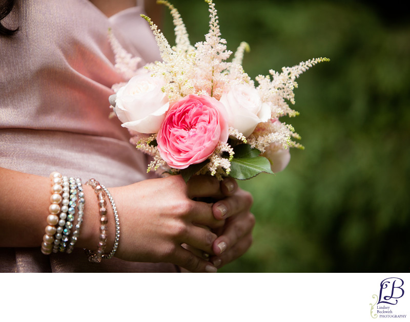 Cleveland Botanical Garden bridesmaid flowers