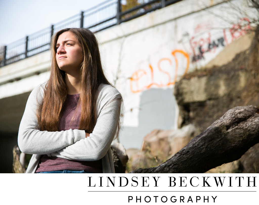 Rocky River Reservation Senior Portrait