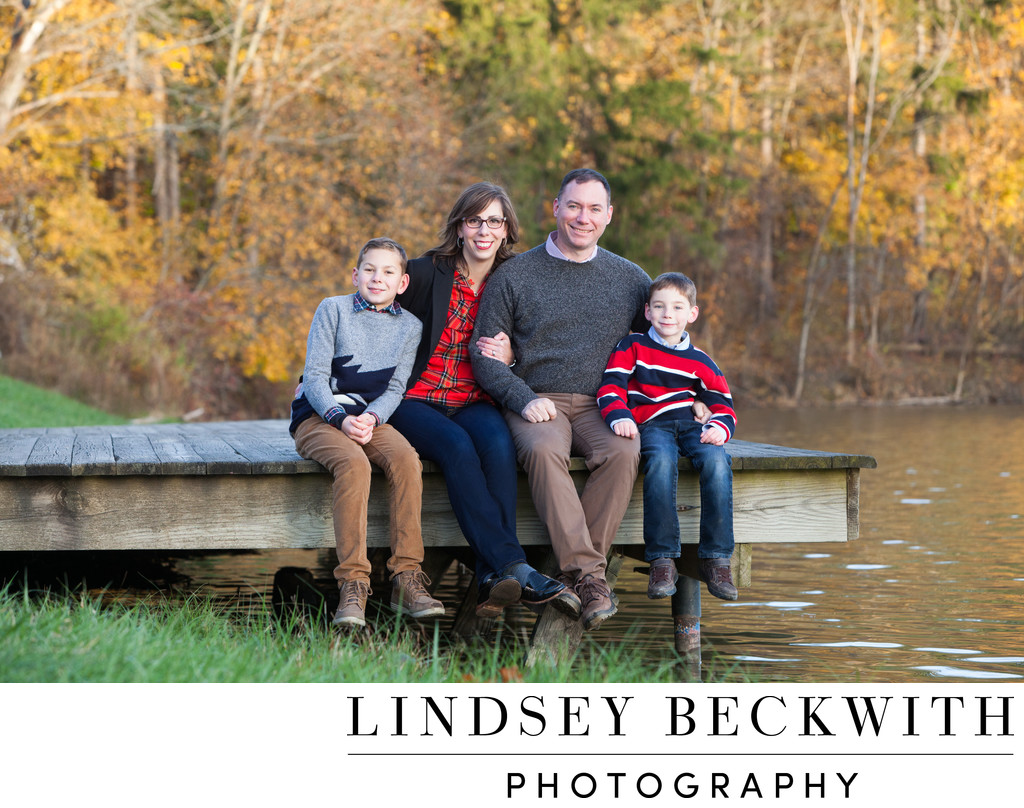 Hinkley Lake family portrait
