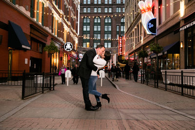 East 4th Street Engagement Session