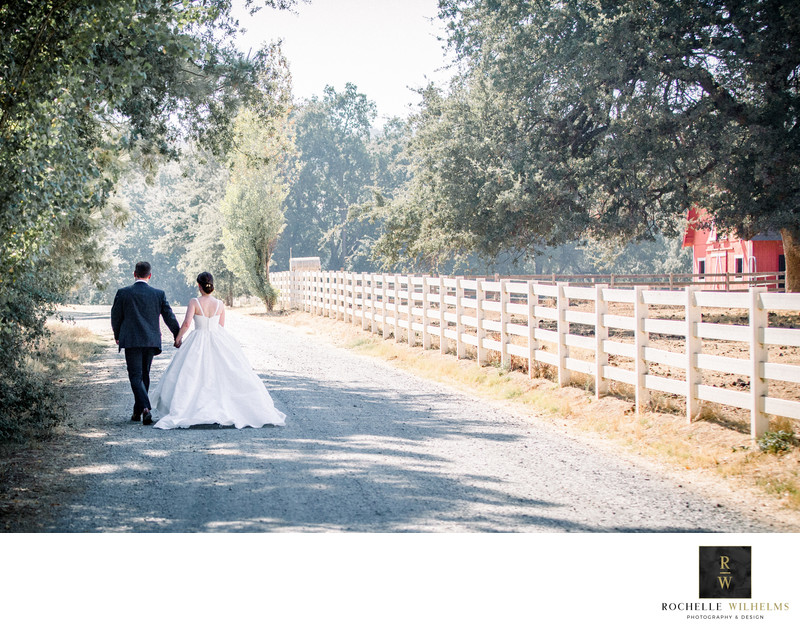 Grass Valley Private Estate Wedding Photography