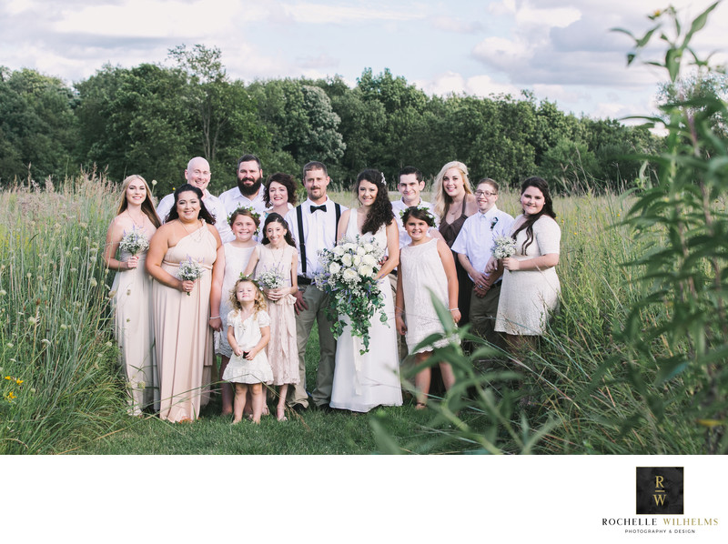 Farm Wedding in Illinois