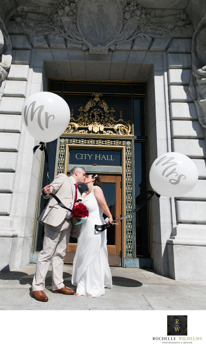 City Hall San Francisco Wedding Photographer