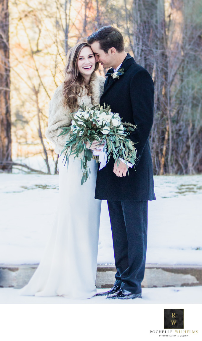 Winter Wedding Photography Tahoe Area