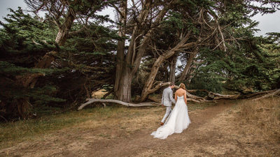 Seaside Wedding Photography Mendocino