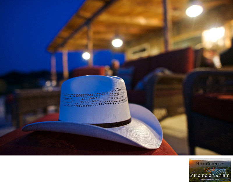 Texas Hill Country Food and Wine Dinner Stetson Hat