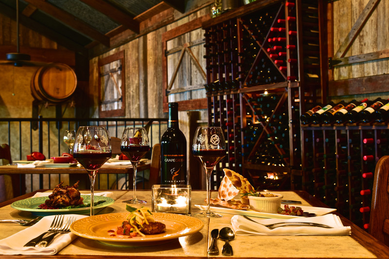 Cabernet Grill Fredericksburg Texas Food & Wine Dinner