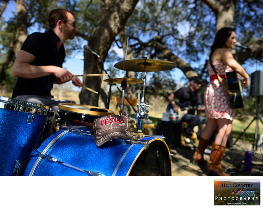 Brittany Shane Band Live at William Chris Vineyards Texas Hill Country