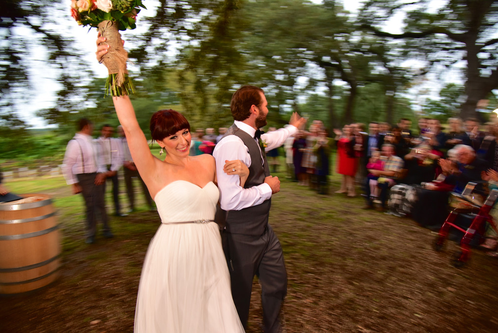 Hill Country Wedding at William Chris Vineyards Oak Grove