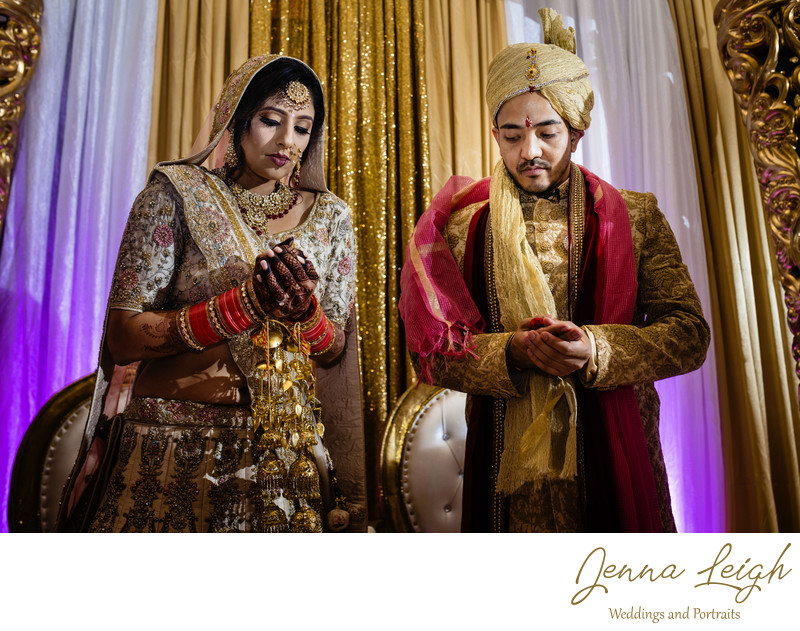Romantic Indian wedding at the Hilton Washington DC